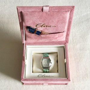 Elini New Yorker Watch, extra band & keepsake box!